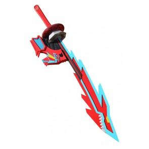 Mighty Morphin Power Rangers Cosplay Shark Sword Prop