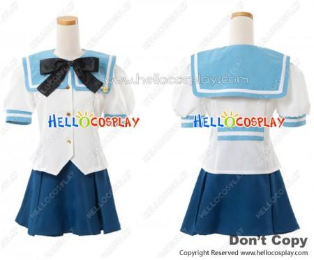 Primo Passo Kiniro No Corda 3 Cosplay Seiso Academy School Girl Uniform Costume