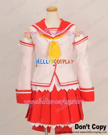 A.G.II.D.C Cosplay Brave Academy School Girl Uniform Costume