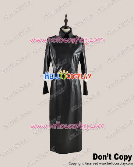 Gintama Silver Soul Cosplay Shinpachi Shimura Black Coat Costume