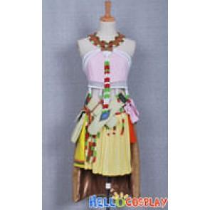 Final Fantasy XIII Cosplay Oerba Dia Vanille Costume