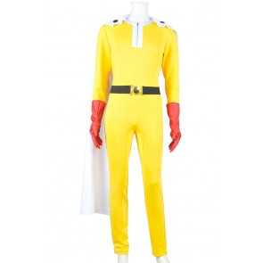 One Punch Man Cosplay Saitama Costume