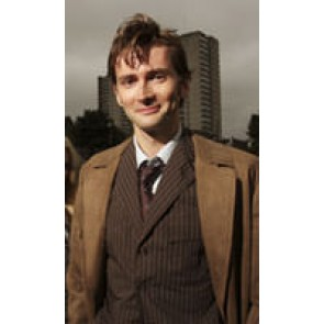 Doctor Doctor Dr 10th Tenth David Tennant Wool Brown Trench Coat