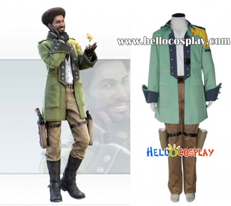 Final Fantasy XIII Cosplay Sazh Katzroy Costume