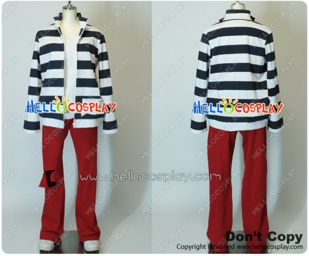 Lucky Dog 1 Cosplay Bernardo Ortolani Prison Uniform