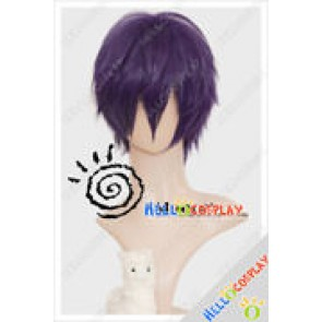 Vocaloid Cosplay Kaito Purple Wig