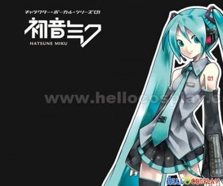 Vocaloid 2 Hatsune Miku Cosplay Headphone With Light