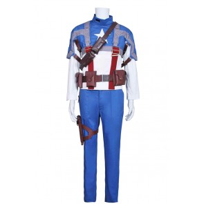 Captain America Steve Rogers Cosplay Costume Outfit