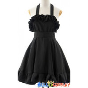 K-On Cosplay Mio Akiyama Black Dress
