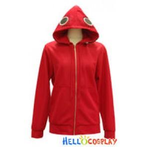 Vocaloid 2 Cosplay Costume Matryoshka Gumi Coat Red