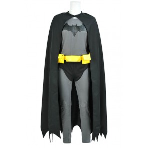 Batman The Dark Knight Bruce Wayne Cosplay Costume Jumpsuit Cotton Version