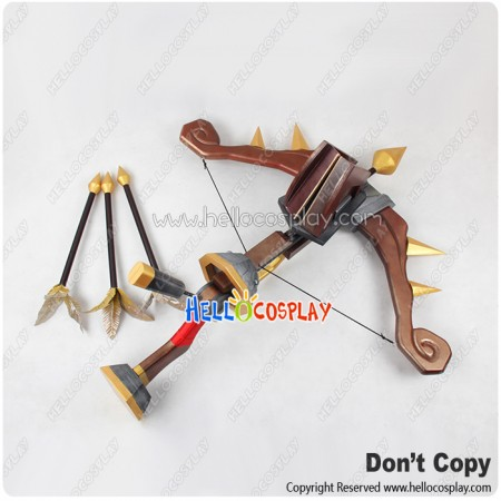 League Of Legends Cosplay Twitch Bow Arrows