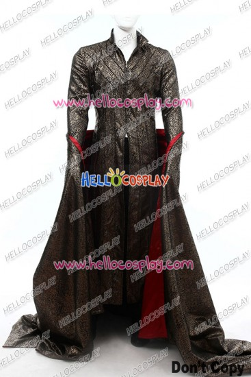 Movie The Hobbit Elf King Thranduil Cosplay Costume