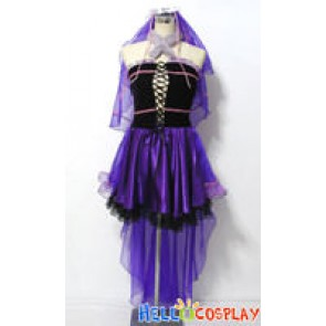 Macross Frontier Cosplay Sheryl Nome Wedding Dress