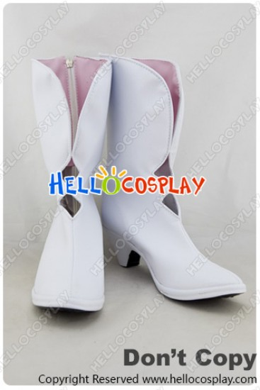 Rune Factory 4 Cosplay Frey White Boots