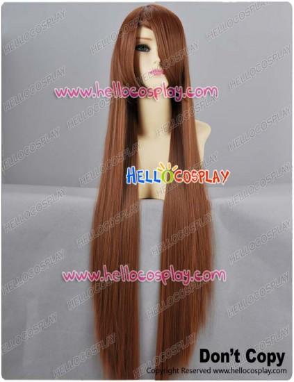Brown Long Cosplay Wig