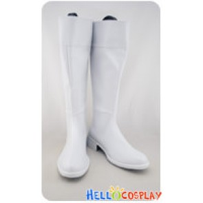 Gintama Cosplay Nobume Imai White Boots