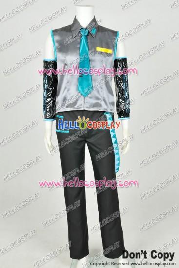 Vocaloid 2 Cosplay Hatsune Mikuo Costume Male Version Uniform