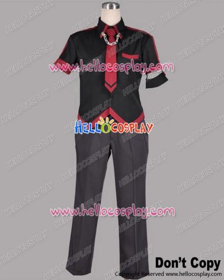 Blood C Cosplay Itsuki Tomofusa Shinichirō Tokizane Costume Sanbara School Boy Uniform