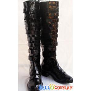 Kateyo Hitman Reborn Cosplay Daemon Spade Boots