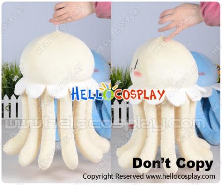 Dramatical Murder DMMD Cosplay Clear Jellyfish Pillow Plush Doll Light Yellow