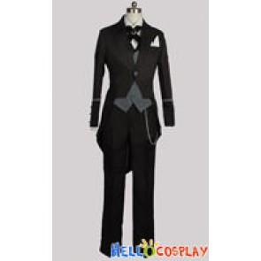 Black Butler 2 Kuroshitsuji II Cosplay Claude Faustus Costume
