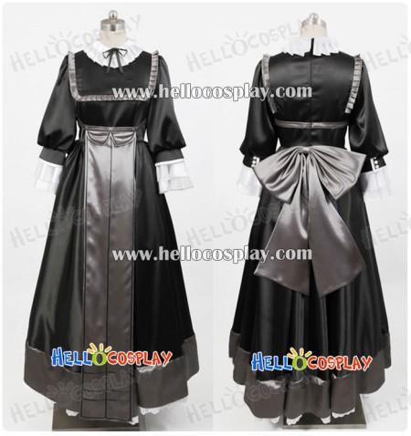 Gosick Cosplay Victorique de Blois Black Dress