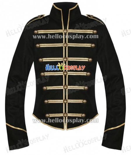Black Gold My Chemical Romance Parade Military Jacket