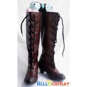 Durarara!! Cosplay Izaya Orihara Kanra Boots