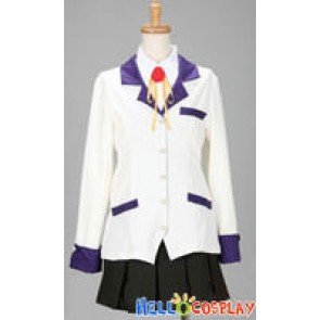 Angel Beats! Cosplay Kanade Tachibana Costume Angel Uniform