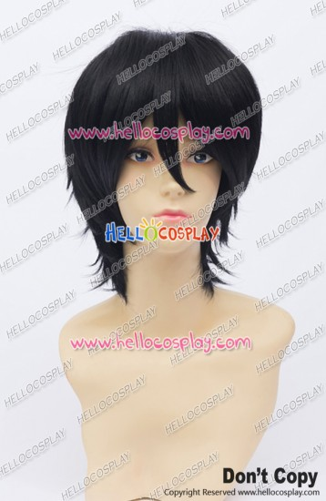 Yukiteru Amano Cosplay Wig 30CM Black Ordinary Universal Short Layered