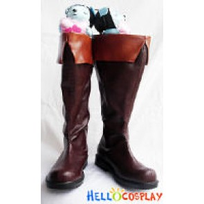 07 Ghost Cosplay Teito Klein Boots