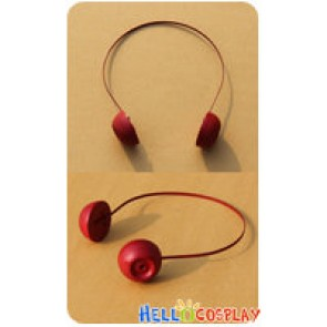 Accel World Cosplay Yuniko Kouzuki Red Headwear Prop