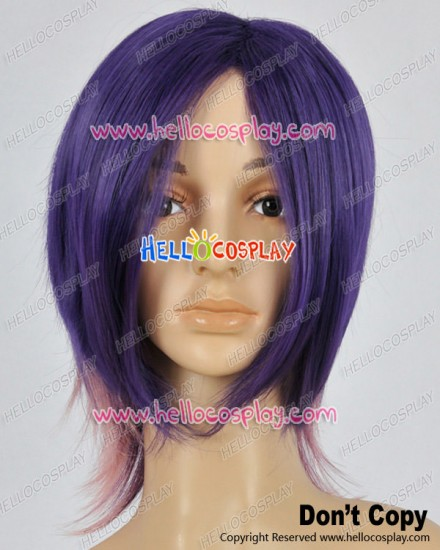 Makai Ouji Devils And Realist Cosplay Kevin Cecil Purple Pink Wig