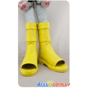 Naruto Cosplay Shoes Naruto Uzumaki Short Yellow Boots