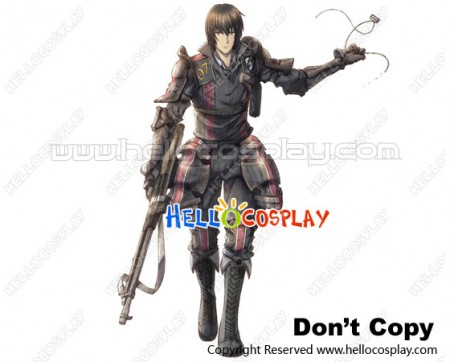Valkyria Chronicles III Cosplay Squad 422 Kurt Irving Boots