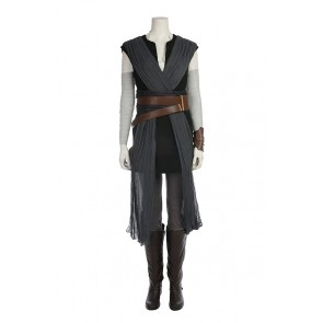 Star Wars: The Last Jedi Rey Cosplay Costume Full Set Uniform