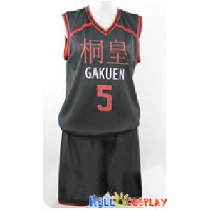 Kuroko Basketball Cosplay Aomine Daiki Basketball Uniform