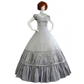 Victorian Lolita Southern Belle Satin Evening Gothic Lolita Dress