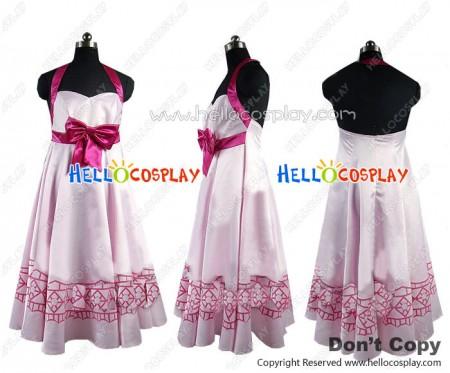 Vocaloid Project Diva Cosplay Megurine Luka Costume Dress