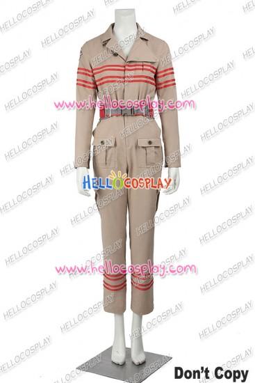 Ghostbusters Abby Yates Patty Tolan Cosplay Costume Uniform