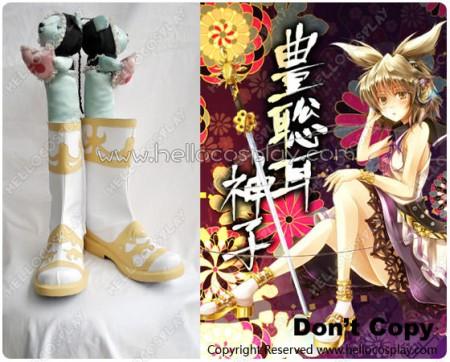 Touhou Project Cosplay Ten Desires Toyosatomimi no Miko Shoes