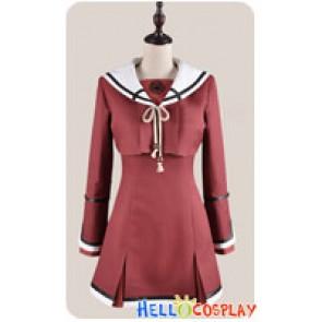 Hiiro No Kakera Cosplay Tamaki Kasuga Costume School Girl Uniform