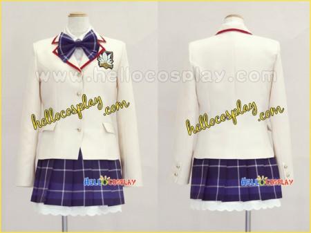 Chaos Head Cosplay Rimi Sakihata Uniform
