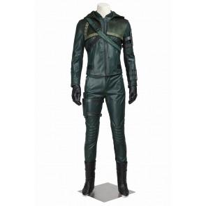 Green Arrow Season 3 Oliver Queen Cosplay Costume