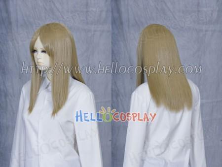 Dark Khaki 50cm Cosplay Straight Wig