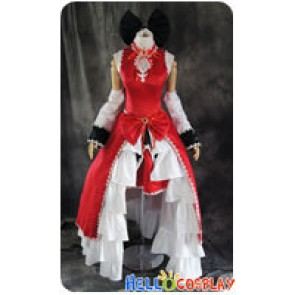 Puella Magi Madoka Magica Cosplay Kyōko Kyouko Sakura Dress Costume