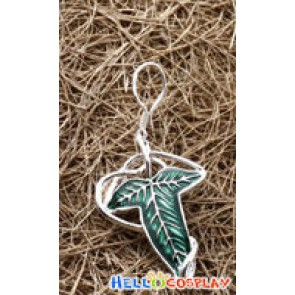 The Lord of The Rings Leaf Shape Earrings