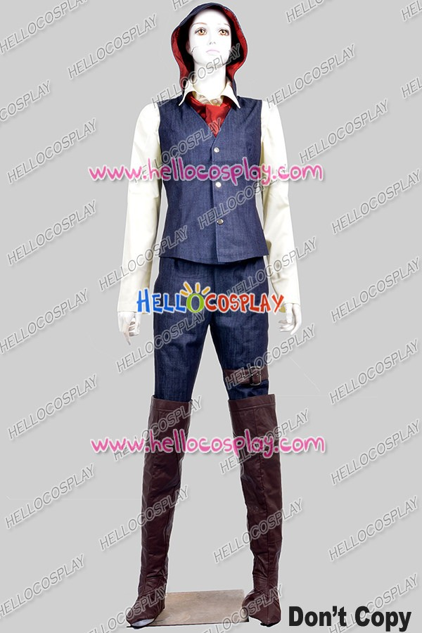 Assassins Creed Syndicate Cosplay Dame Evie Frye Costume Full Set