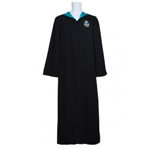 Harry Potter Costume Slytherin of Hogwarts Robe Cape